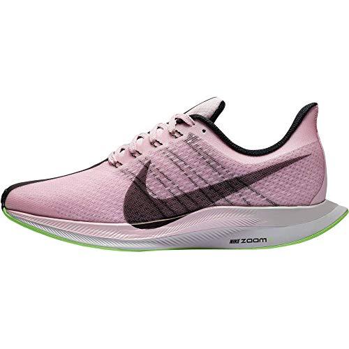 Nike Damen W Zoom Pegasus 35 Turbo Leichtathletikschuhe, Mehrfarbig (Pink Foam/Black/Lime Blast/Vast Grey 601), 40 EU