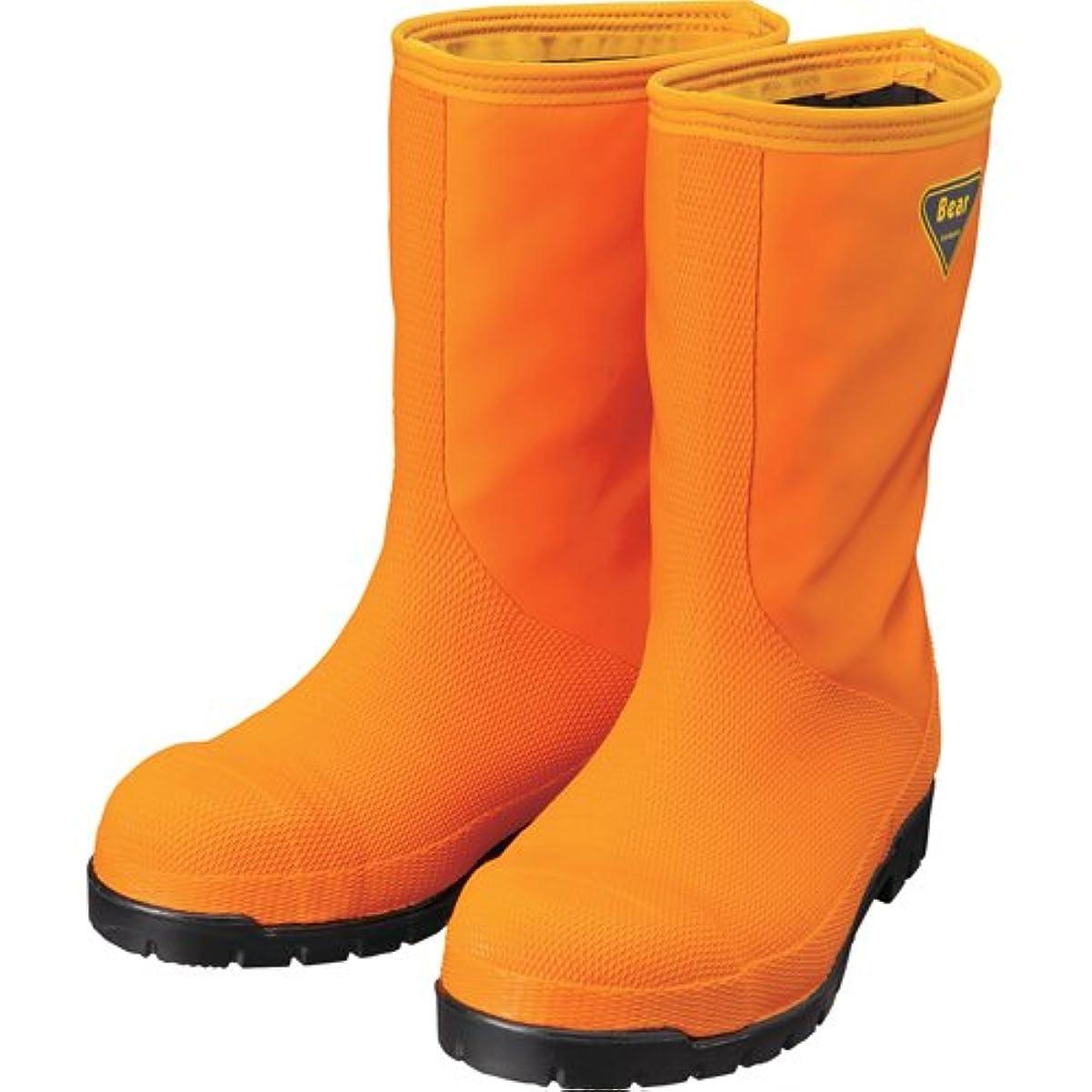 詐欺信頼できる前進SHIBATA(シバタ) 冷蔵庫用長靴-40℃ NR031 オレンジ