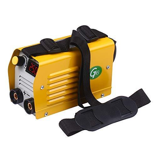 Kecheer Soldador de arco electrico,Máquina de soldadura eléctrica inverter IGBT,para soldar trabajos eléctricos,para acero inoxidable/acero al carbono/acero de baja aleación/cobre (Versión digital)