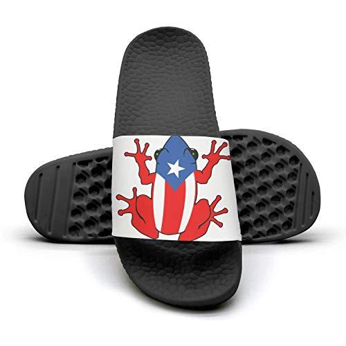 BIAOSD Daily Slipper Sandals Puerto Rico PR Coqui Unisex Anti-Slip Slide Shoes