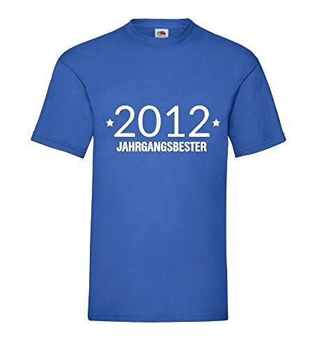 Shirt84.de - Camiseta para hombre, diseño de 2012 azul real XXL