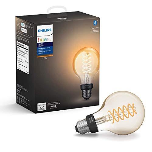 Philips Hue White Filament Globe G25 LED