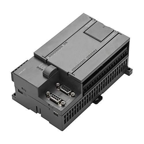 Controlador lógico programable PLC DC 24V, salida de transistor, módulo de placa de control programable con 2 puertos RS485, 7 módulos de expansión, compatible con Siemens 6ES7 214-2AD23-0XB8