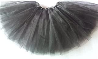 L.O.S Tüllrock Tütü Tutu Ballettrock Ballet Petticoat Ballettkleid 3 Lagen Grau