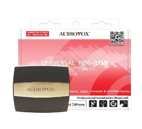 AudioVox Universal con interfaccia multimediale con modulatore FM con USB RDS AUNI200PRO