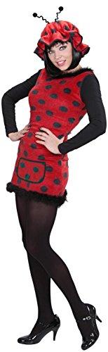 Widmann 94912–Costume Coccinelle - Femme - Multicolore (noir/rouge) - M