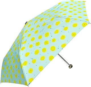 ディバージョン naosudou 折りたたみ傘 まるい花サックス 50cm UMB-34 (まるい花サックス(06))