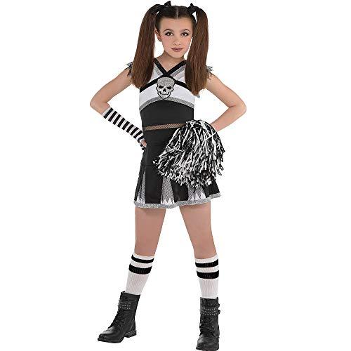 Cheerleader Costume | Rah Rah Rebel | Children Medium (8-10)