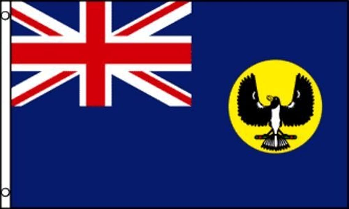 ALBATROS 3 ft x 5 ft South Australia Flags House Banner Brass Grommets for Home and Parades, Official Party, All Weather Indoors Outdoors