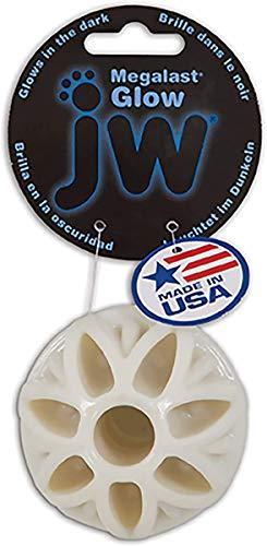 JW Pets Megalast Glow Ball Jouet pour Chien Taille M