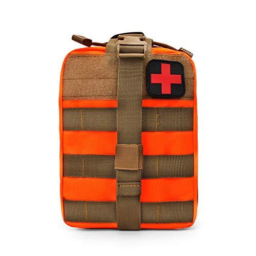 HPiano Kit di Pronto Soccorso Borsa Medica Militare Tattico Molle Marsupio,Borsa Porta Medicine da Viaggio Borsa Primo Soccorso Vuota Organizzatore Medicine per Campeggio Viaggio