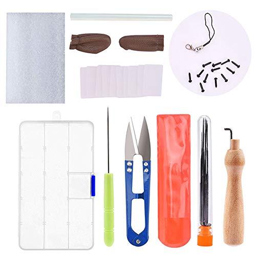 Bolange Kit de Inicio de Fieltro de Aguja, Kit de Inicio de Fieltro de Aguja de Lana para el Proyecto de Manualidades de Fieltro de Bricolaje
