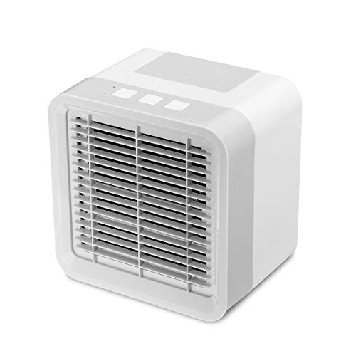 Ai-lir Portable air conditioner is easy to carry Miniskirt Multi-function Air Cooler USB Aromatherapy Fan Portable Modest Air Conditioning Fan Small and durable