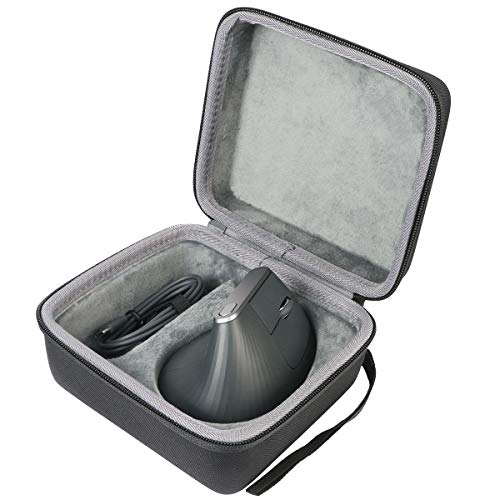 co2crea Hard Travel Case Replacement for Logitech MX Vertical Advanced Ergonomic Mouse (Case for Mouse & Accessories)