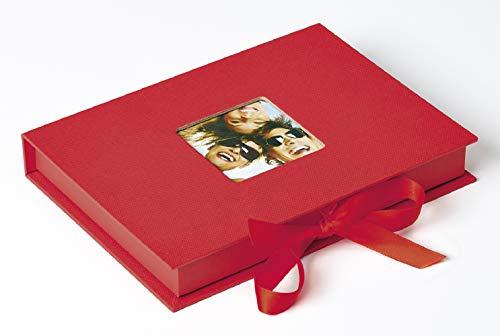 Foto-Geschenkbox Fun rot, für Fotos bis Format 13X18 cm