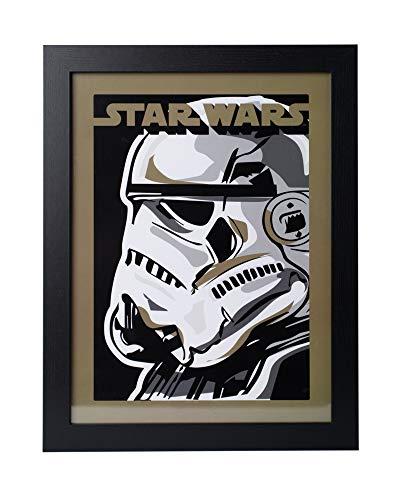 Grupo Erik PE30X40CM0019 Cuadro Decorativo Star Wars Stormtrooper, Stormtrooper