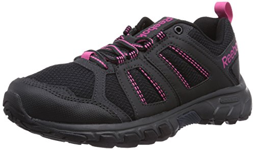 Reebok Unisex-Erwachsene DMX Ride Comfort RS 2.0 Walkingschuhe, Schwarz (Black/Gravel/Graphite/Pink/Foggy Grey), 37 EU