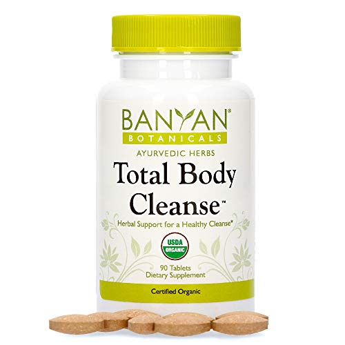 Banyan Botanicals Total Body Cleanse – Organic Detox Supplement with Amla & Manjistha – Supports Ayurvedic Cleanses, Detoxification, & Liver Function* – 90 Tablets – Non GMO Sustainably Sourced Vegan