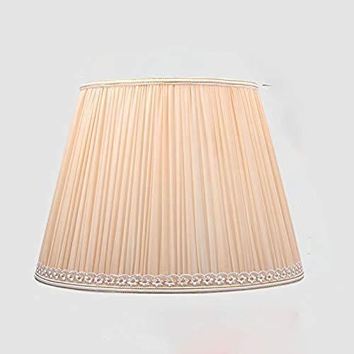 Radiancy Inc Tischlampenschirm Lampenschirm Shell Abdeckung Blendschutz Schlafzimmer Nachttischlampe IKEA Europäischer Stil Stehlampe großer Lampenschirm Stoff Ul035