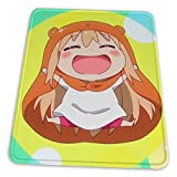 Himouto Umaru-Chan Mouse Pad Rutschfeste Computertastatur Mauspad Bequem 8,3 X 10,3 Zoll