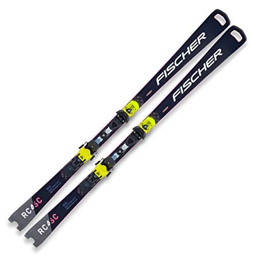 FISCHER Ski RC4 Worldcup SC Pro 165cm gelb Modell 2021 + Bindung RC4 Z13 Freeflex
