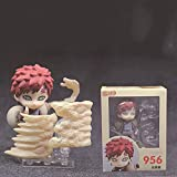 Naruto Gaara Q Version Nendoroid Action Figure Toy with Accessories and Movable Joints Anime Figures Model Statue Character Collectibles Action Figures Dolls