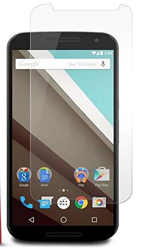 Luckyandery - Protector de pantalla de cristal templado para Google Nexus 6,...