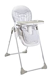Adjustable height: Six positions (from 52 to 75 cm) Tilting backrest: Three adjustable positions Depth-adjustable tray: Three positions to adapt to the baby's body shape Very soft 5-point harness with protections to provide ideal comfort Removable tr...