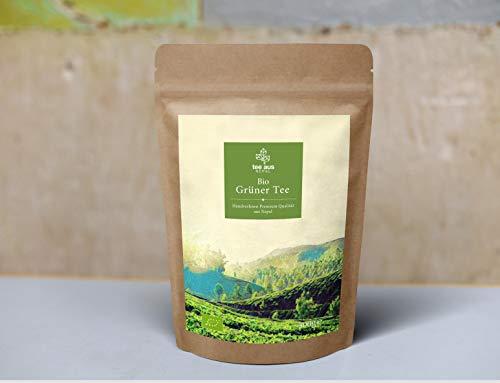 BIO Grüner Tee aus Nepal 500g | Nachhaltig und biologisch angebaut | Hochwertiger Vollblatt-Tee | Whole leaf green tea | ORGANIC Green tea | 500g | DE-ÖKO-044