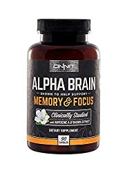 Alpha BRAIN Flagship Memory & Focus by Onnit Labs