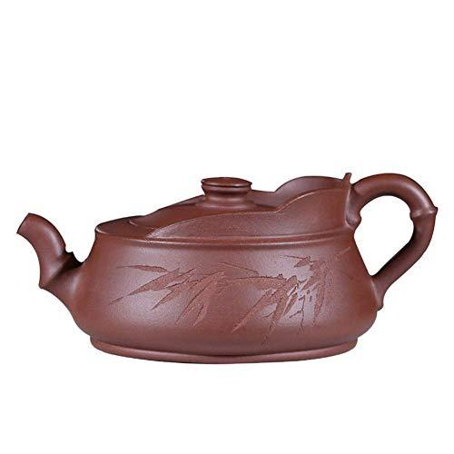 ZKS-KS Electronic Multimeter Zisha Pot Yixing Quality Raw Ore Purple Pure Hand Pot Tea Maker Sand Pot (Color : Purple mud)