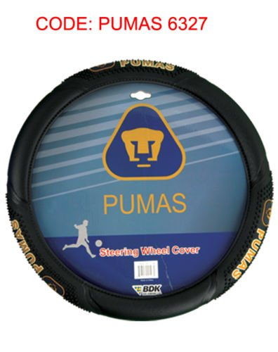 BDK Company Fundas para Ruedas de Masaje Oficial Car-Pumas-Cruz Azul-America-Atlas-Chivas