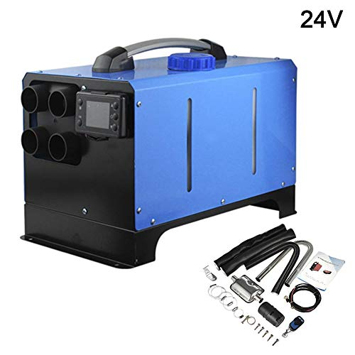 Why Choose leveraYo 24V 5KW Parking Air Diesel Fuel Heater Set, with LCD Thermostat Monitor & Remote...