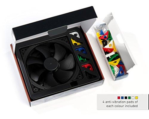 Noctua NF-A14 PWM chromax.Black.Swap, Ventola Silenziosa di qualità Premium, 4-Pin (140mm, Nero)