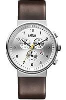 ブラウン Braun Men's BN0035SLBRG Classic Chronograph Analog Display Japanese Quartz Brown Watch 男性 メンズ 腕時計 【並行輸入品】