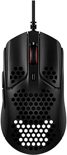 HyperX Pulsefire Haste Gaming Mouse Ultra Lightweight 59g Honeycomb Shell Hex Design RGB Hyperflex product image