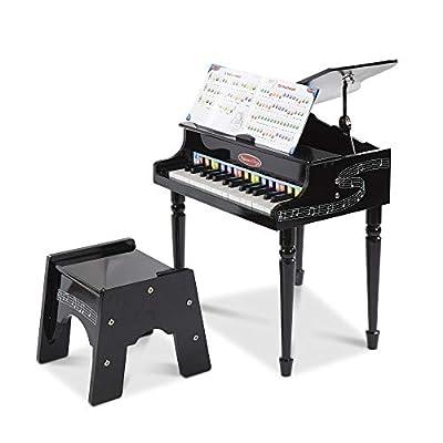 Melissa & Doug 11315 - Piano de cola de juguete por Melissa & Doug