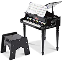 Melissa & Doug Learn-to-Play Classic Grand Piano with 30 Hand-Tuned Keys