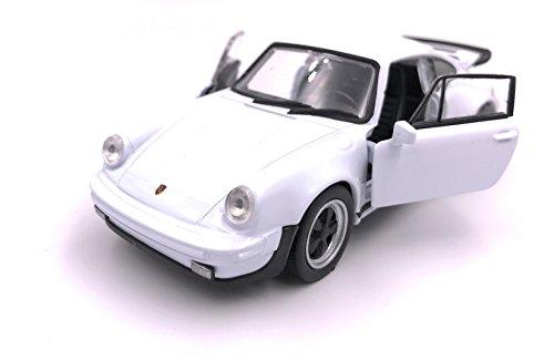 H-Customs Porsche 911 Turbo 930 1975 Modelauto auto gelicentieerd product 1:34 willekeurige kleurkeuze