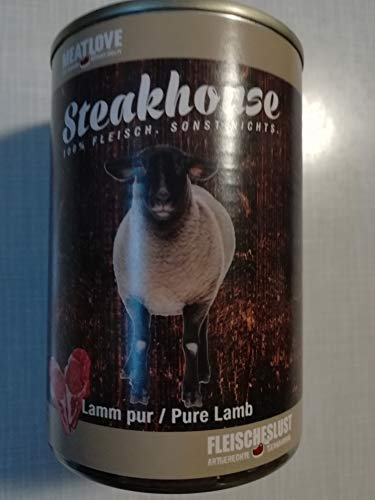 Fleischeslust Steakhouse Lamm Pur, 1er Pack (1 x 410 g)