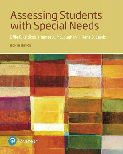 Assessing Students with Special Needs, with Enhanced Pearson eText -- Access Card Package (8th Edition) (What's New in S