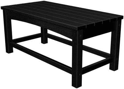 Polywood CLT1836BL Club Coffee Table Black product image