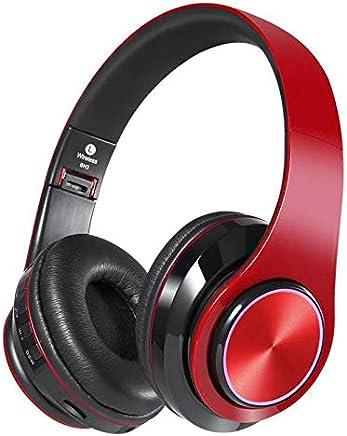 ZHJS Mobile Bluetooth Headset con Headset Sports Wireless Headset Folding Earphone Stereo Running Mobile Bluetooth Headset Rosso e Nero - Trova i prezzi più bassi
