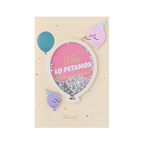 Postal de cumpleaños - Hoy lo petamos ¡Feliz cumpleaños!