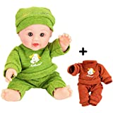 JC Toys La Newborn All-Vinyl-Anatomically...