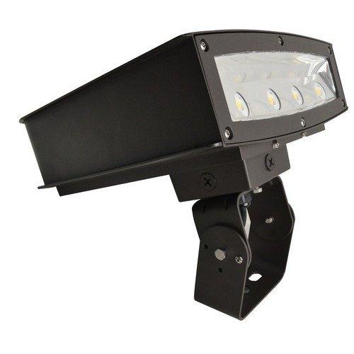 Morris 71320 LED Slim-Line Combo Wallpack/Flood Accessory, Optional Junction Box, Bronze
