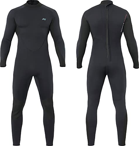 Womens/Mens Wetsuit, 3mm Wet Suit for Men and Women in Cold Weather, Diving Surfing Suit for Adult and Youth, with Plus Size