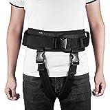 HEALLILY Transferencia de Cinturón de Seguridad Cinturón de Marcha con Asas para Personas Mayores de Enfermería Del Hospital Correas de Asistencia para Caminar