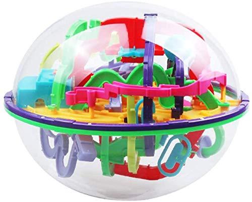 DINEGG Spielzeug 3D Puzzle Spur Labyrinth Sphere Toy Challenging Barriers Spiel Gleichgewichtstraining QQQNE