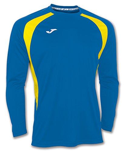 Joma 100015.709 - Camiseta de equipación de Manga Larga para Hombre, Color Azul...